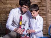 Corbatas Tielokos para papás peques hipsters