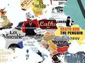 Mapa obras literarias importantes cada país