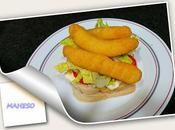 Sandwich fingers pollo maheso