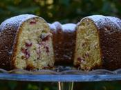 Bundt cake arándanos rojos