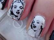 Nail Marilyn Monroe Vynils Vinyl Stencils
