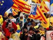 Manifestantes catalanes, Bélgica.