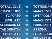 Sorteo octavos final Champions League