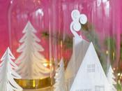 campana IKEA decorada para Navidad