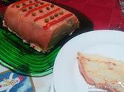 Pastel salmón ahumado. Receta Navidad