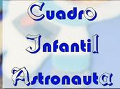 Cuadro infantil astronauta