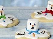 Galletas muñeco nieve