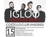 Concurso: Entrada doble para Igloo Costello Club Diciembre