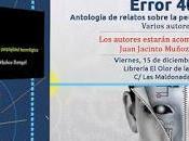 """Presentación antología """"Error 404"""""""