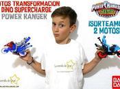 Motos Transformación Dino SuperCharge Power Ranger