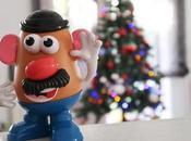 Potato elige montar nuestro árbol Navidad antes cumplir años