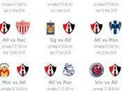 Calendario Atlas para Clausura 2018