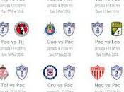 Calendario Pachuca para Clausura 2018