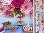 Ideas fáciles hermosas para decorar flores papel