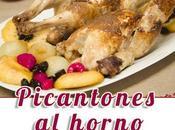 Pollos picantones horno salsa jengibre