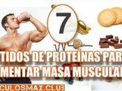 Batidos proteínas puedes tomar para aumentar masa muscular