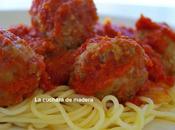 Albondigas salsa tomate