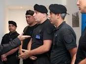 Felicitan policías tras jornada violencia