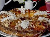 Roscon Reyes relleno Crema Pastelera Chocolate