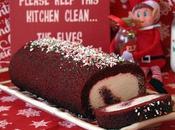 Velvet-Cherry Cake Roll