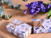 Detalles para bodas, jabones florales rústicos.
