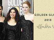 Golden Globes 2018 alfombra roja