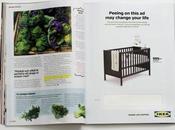 IKEA quiere mees este anuncio estás embarazada, descuento para cuna