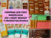 Compras Cost Maquillalia (3x2 Heart Makeup productos Revuele)