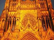 Catedral Reims atardecer