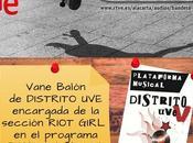 Vane balón (distrito uve) nueva colaboradora bandera negra (radio