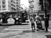 Gente paisaje urbano.