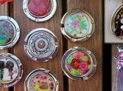 creaciones esmaltes (colgadores bolso, marcapáginas colgante)