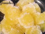 Gominolas naranja azúcar