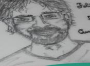 Dibujo sobre galleta glasa