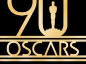 Nonagenaria gala Oscars, lista nominados