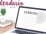 Freebie: Calendario Febrero