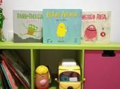 Pequebiblioteca: Monstruo rosa, Pájaro amarillo Rana tres ojos