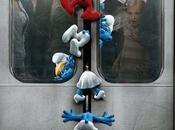 Simpático póster promocional 'Los Pitufos
