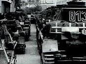panzer desfilan calles Trípoli 12/03/1941.