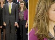 Príncipes Asturias reciben miembros Universidad Aviv. look Dña. Letizia. Prince Felipe Princess Leltizia Spain receive members Aviv University