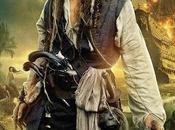 Póster oficial Jack Sparrow, perdón, 'Pirates Caribbean: Stranger Tides'
