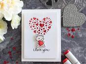 Love Release Simple Valentine's Mini Card