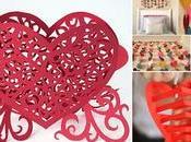 Ideas bonitas para hacer corazones papel valentín