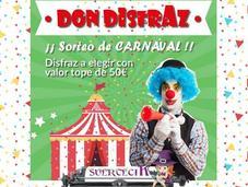 ¡Ganad@r Nuevo Sorteo Carnaval SuerteciK Disfraz!