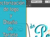 Vectorización logo diseño tarjeta DPyG