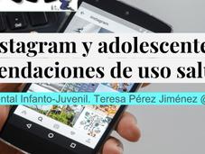 Instagram adolescentes: recomendaciones saludable #TallerIGIBSMIA