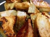 Pechuga pollo marinada plancha
