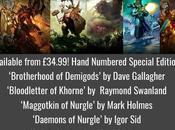 Nuevas ilustraciones venta desde Warhammer