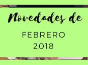 Novedades: Febrero 2018