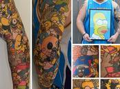 Tatuajes dibujos animados increibles